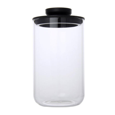 Airtight Glass Jars 1000ml (Black) - Modern Collection