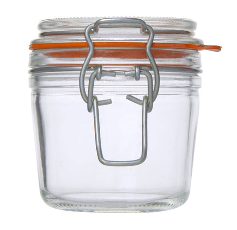Canister with Wire Clip Lock 200 ml - Timeless Collection