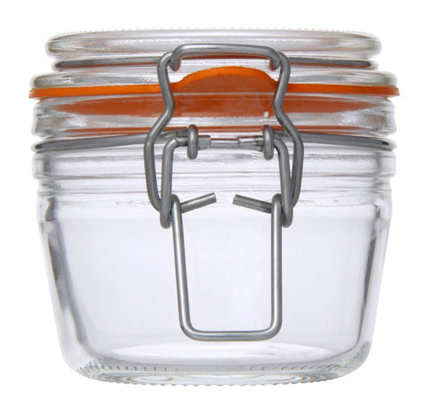 Canister with Wire Clip Lock 125 ml - Timeless Collection