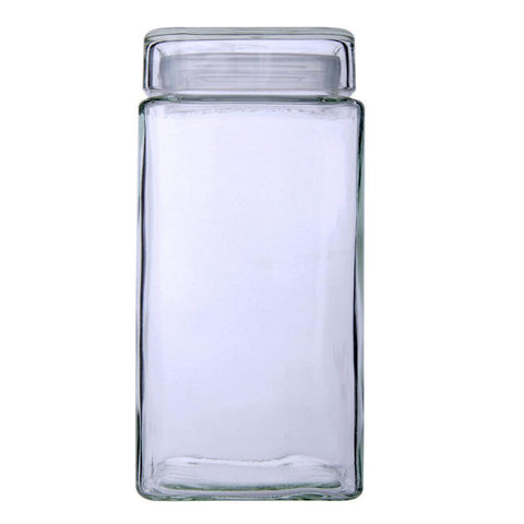 Cube Glass Jars 2100ml - Modern Collection