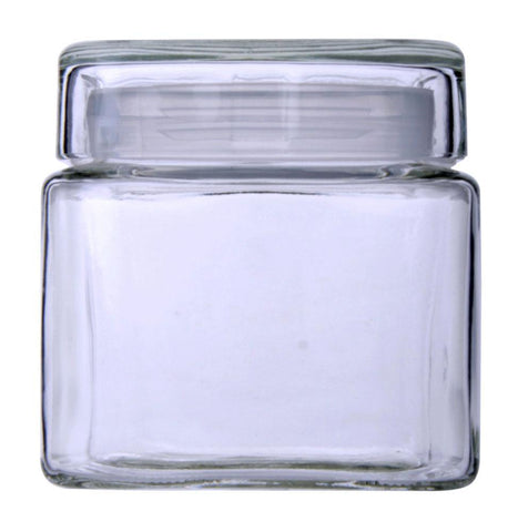 Cube Glass Jars 800ml - Modern Collection