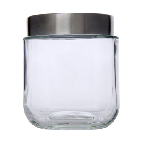 Classic Square Glass Jar 550ml - Modern Collection