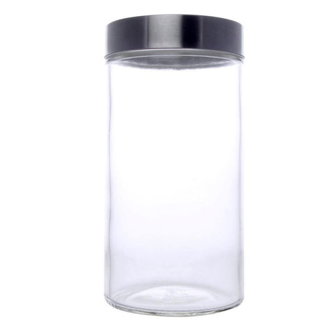 Classic Round Glass Jar 1700ml - Timeless Collection