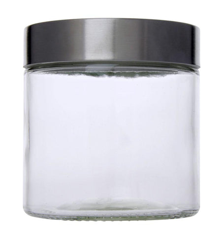 Classic Round Glass Jar 850ml - Timeless Collection