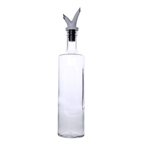 Dual Nozzle Oil Bottle 500ml (White) - Modern Collection