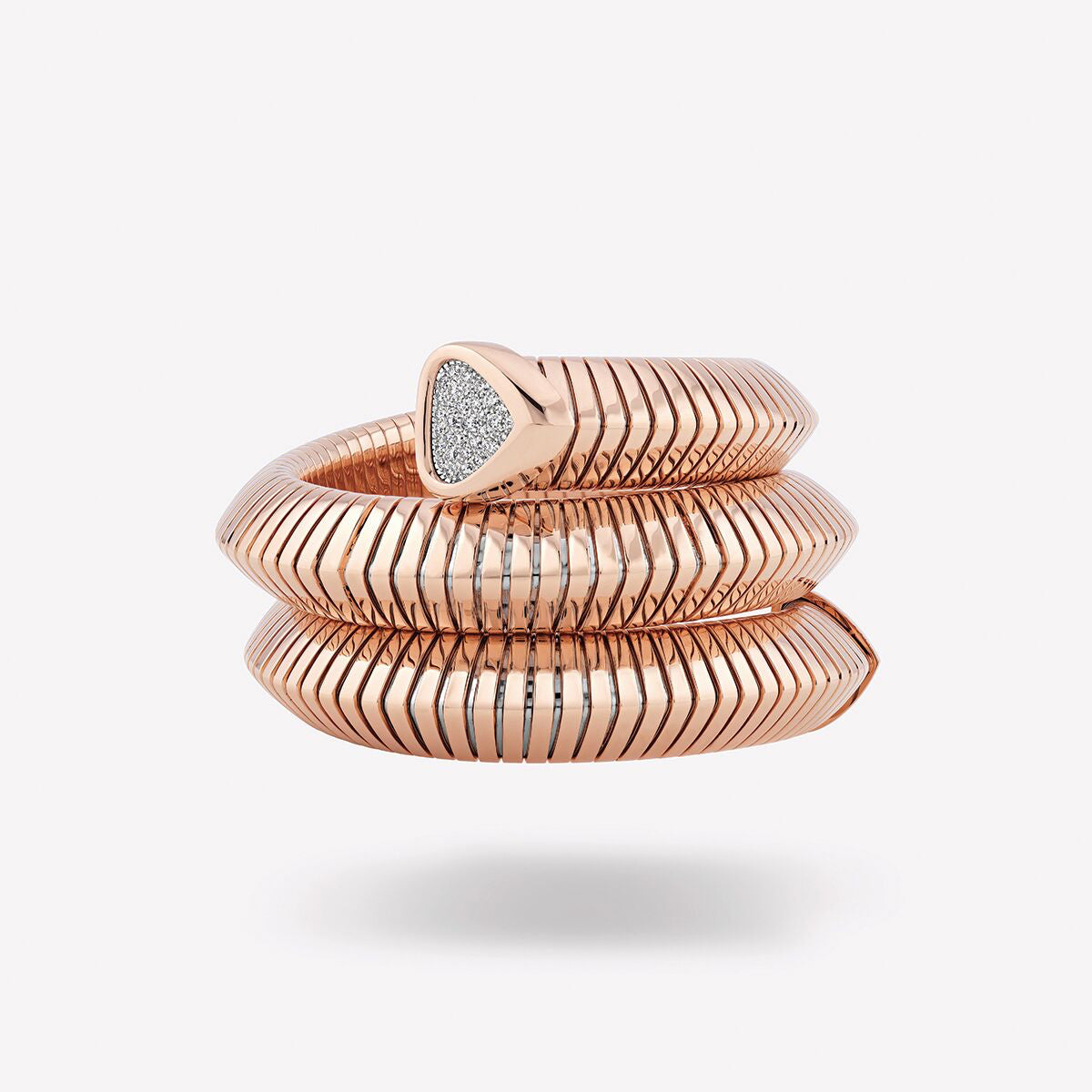 Trisola Rose Gold Triple Cuff