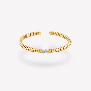 Trisolina Pavé Diamond Bangle