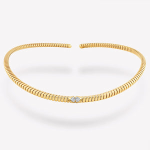 marinab.com, Trisolina Pavé Diamond Collar