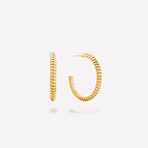 marinab.com, Trisolina Large Hoop Earrings