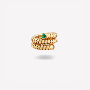 marinab.com, Trisola Emerald Ring