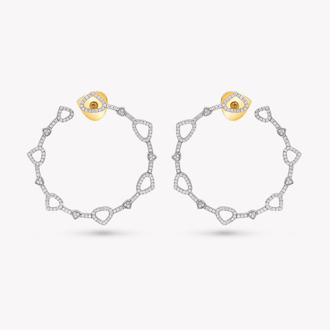 marinab.com, Trina medium Hoop Earrings