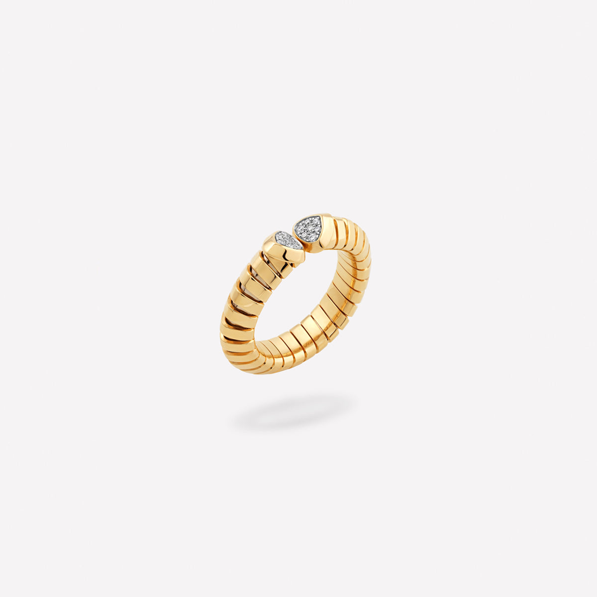 marinab.com, Trisolina Pavé Diamond Ring