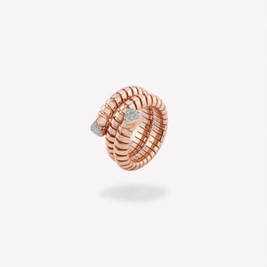 marinab.com, Trisola Pavé Diamond Ring