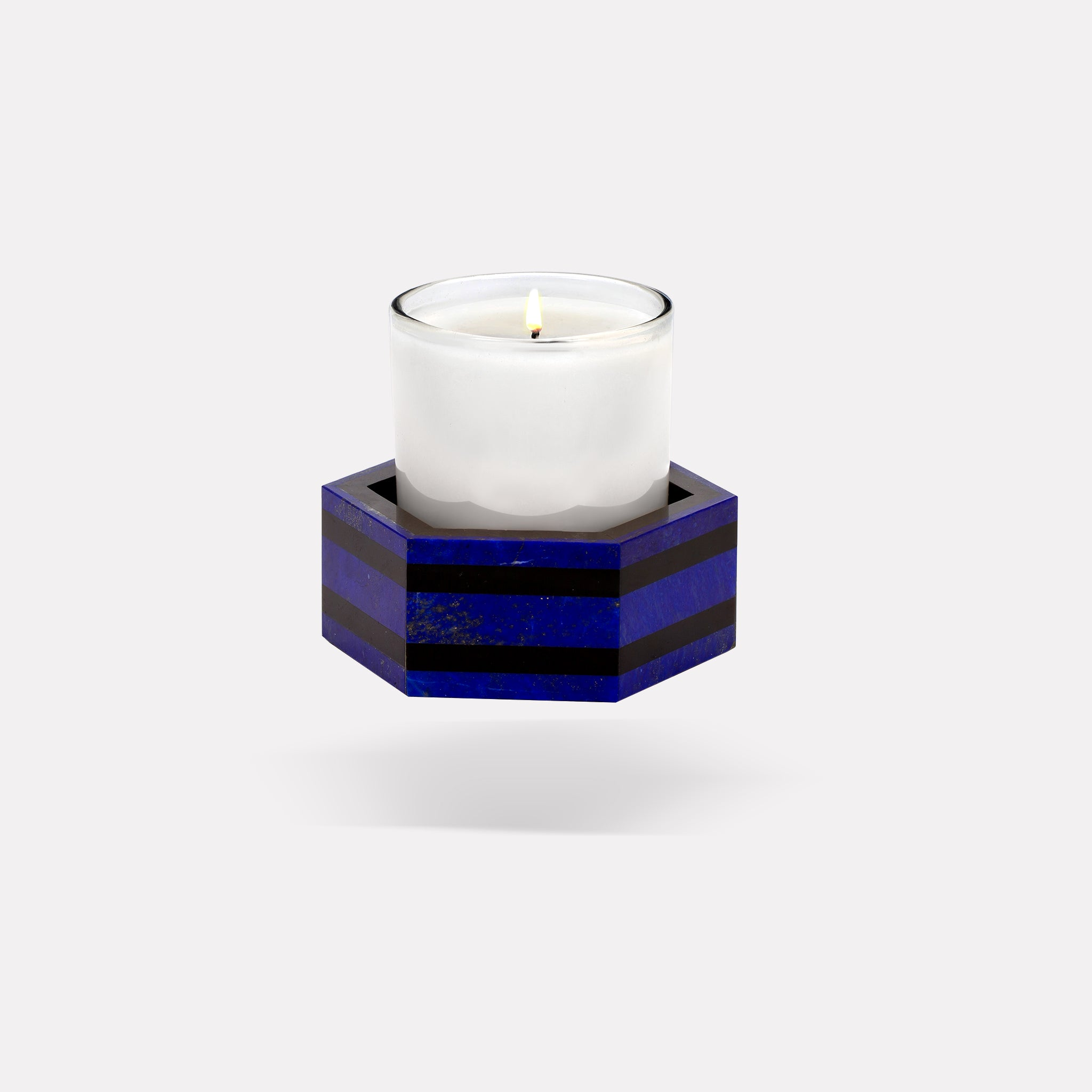 marinab.com, Luman Candle Holder Stripe Collection