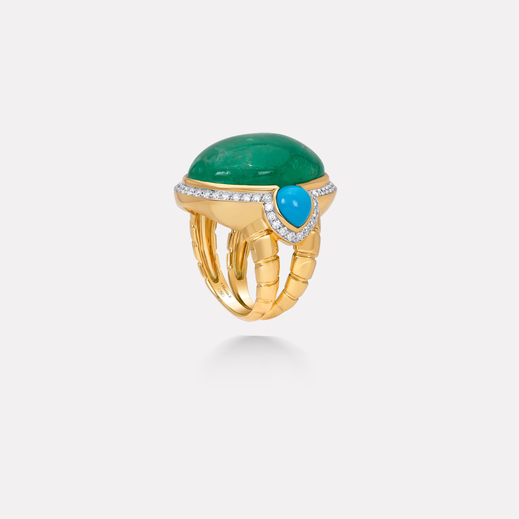 marinab.com, Muzo Emerald One of a Kind Aella Ring