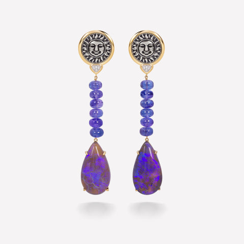 marinab.com, One of a kind Soleil Abeona Earrings