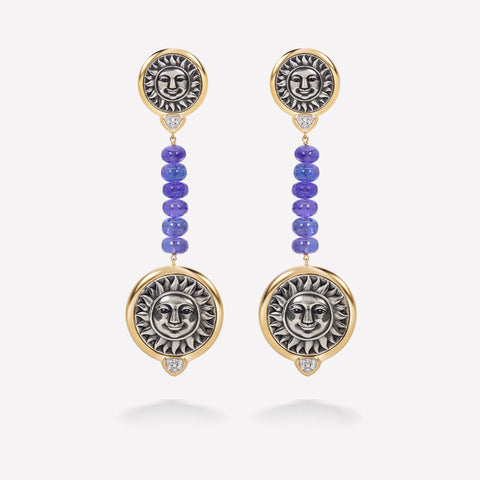 marinab.com, One of a kind Soleil Atia Earrings