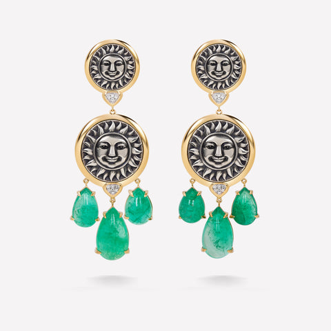 marinab.com, One of a kind Soleil Filomela Earrings