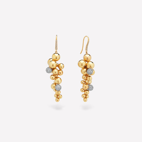 marinab.com, Mini Atomo Pavé Grape Earrings