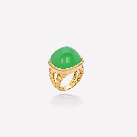 marinab.com, Tigella Chrysoprase Ring