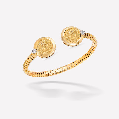 marinab.com, Soleil Double Bangle
