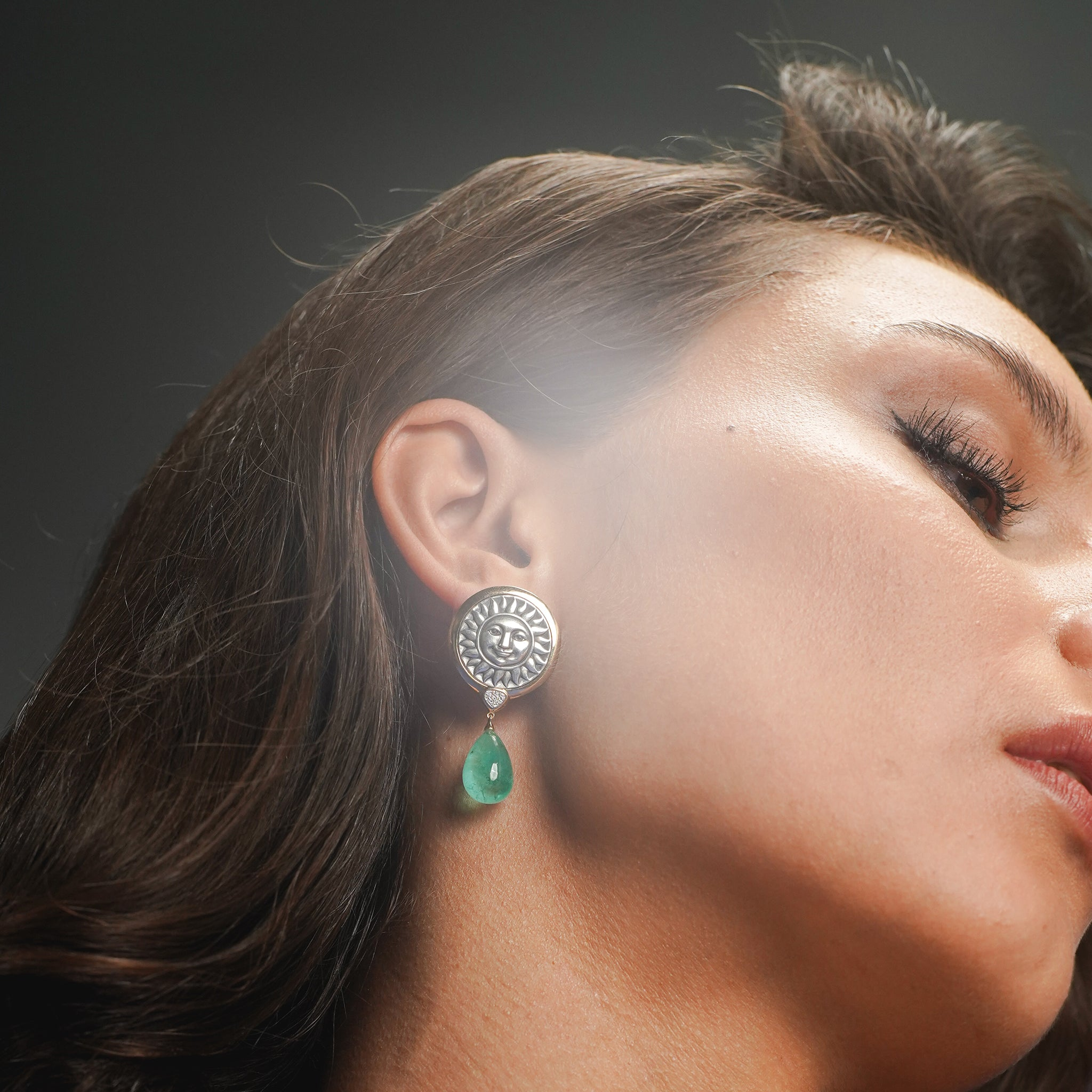 marinab.com, Soleil Limited Edition Muzo Earrings
