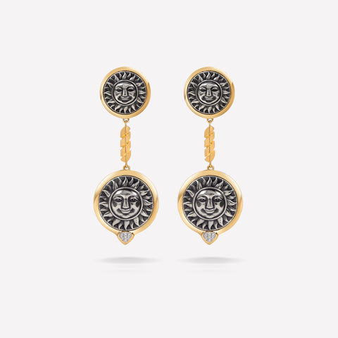 marinab.com, Soleil Long Earrings
