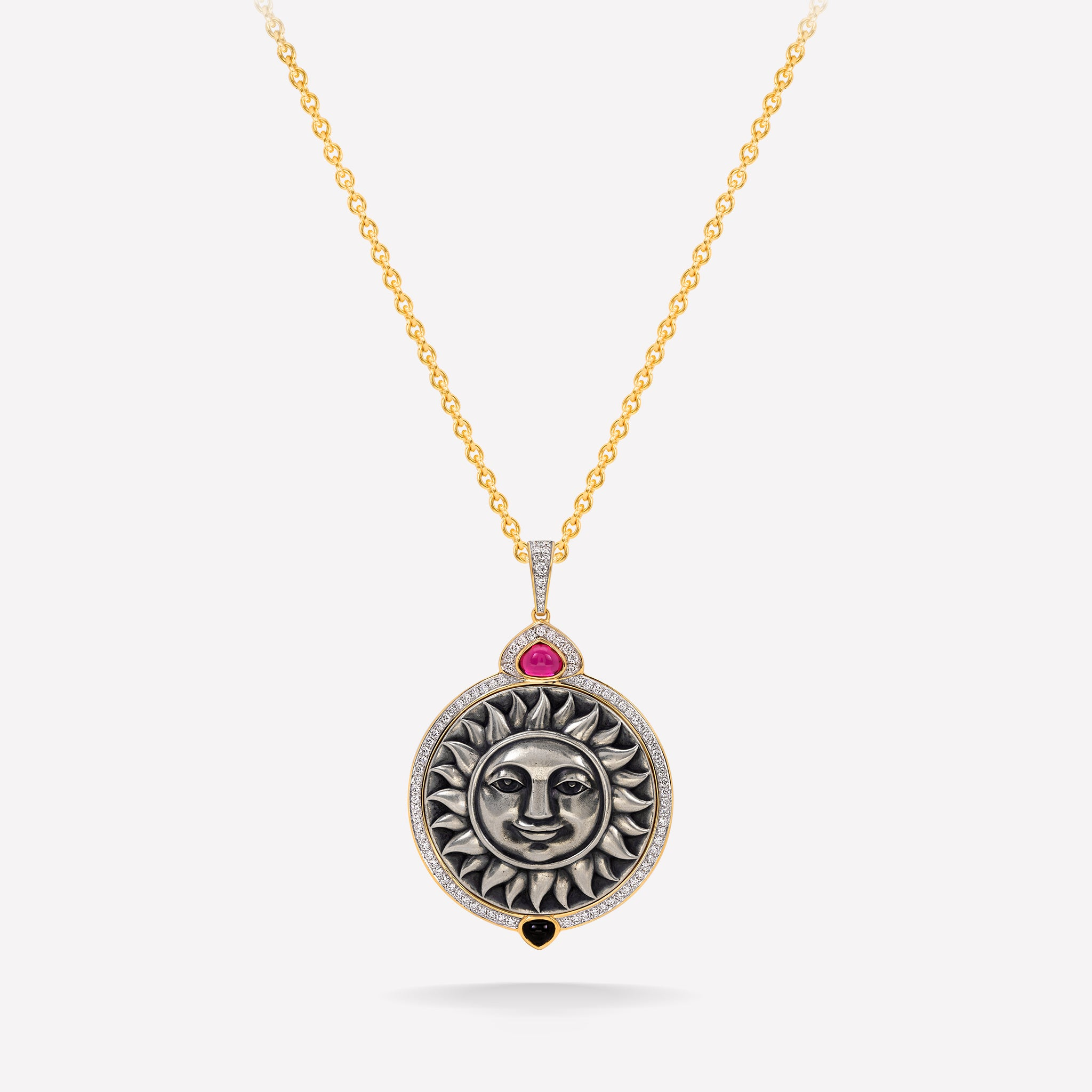 marinab.com, Soleil Limited edition Rubellite Large Pendant
