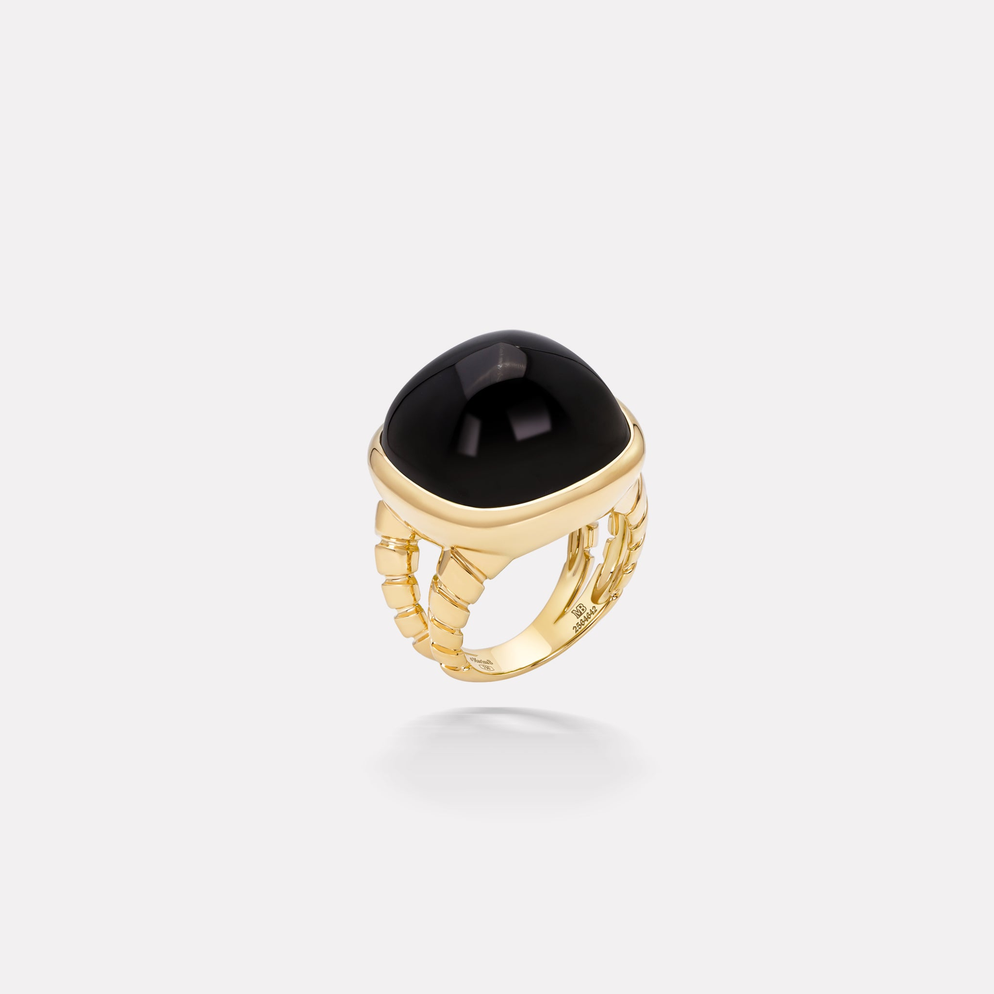 marinab.com, Tigella Black Spinel Ring