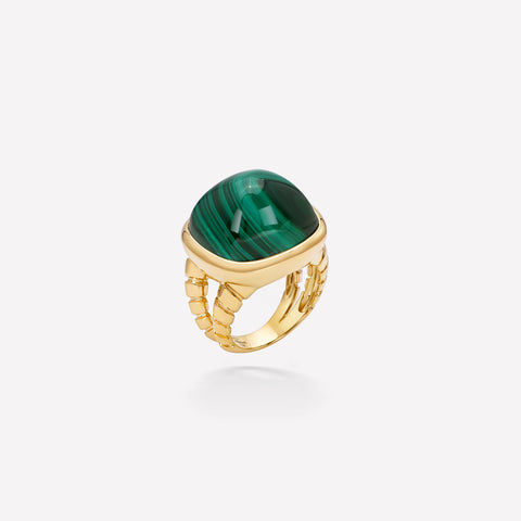 marinab.com, Tigella Malachite Ring
