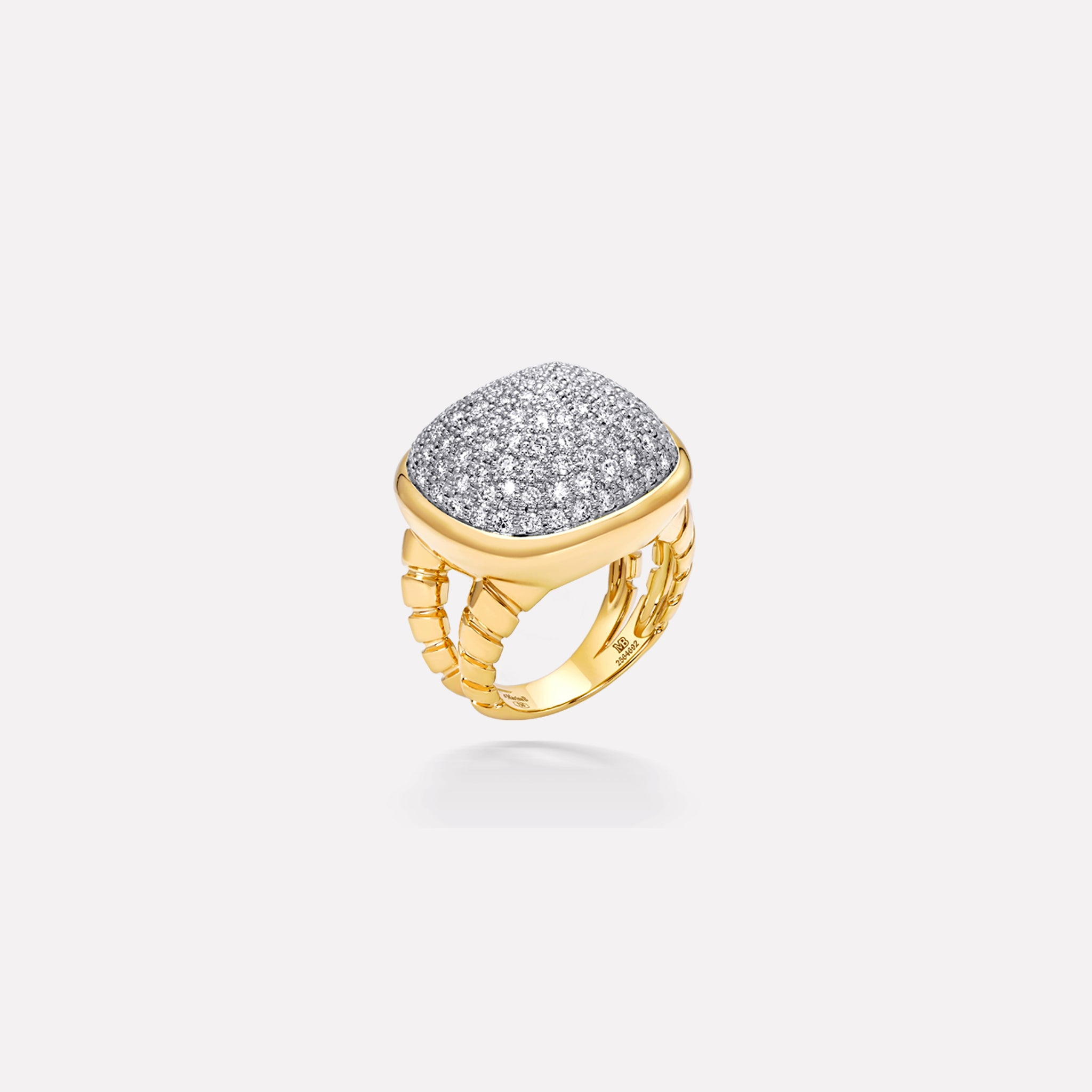 marinab.com, Tigella Pavé Diamond Ring