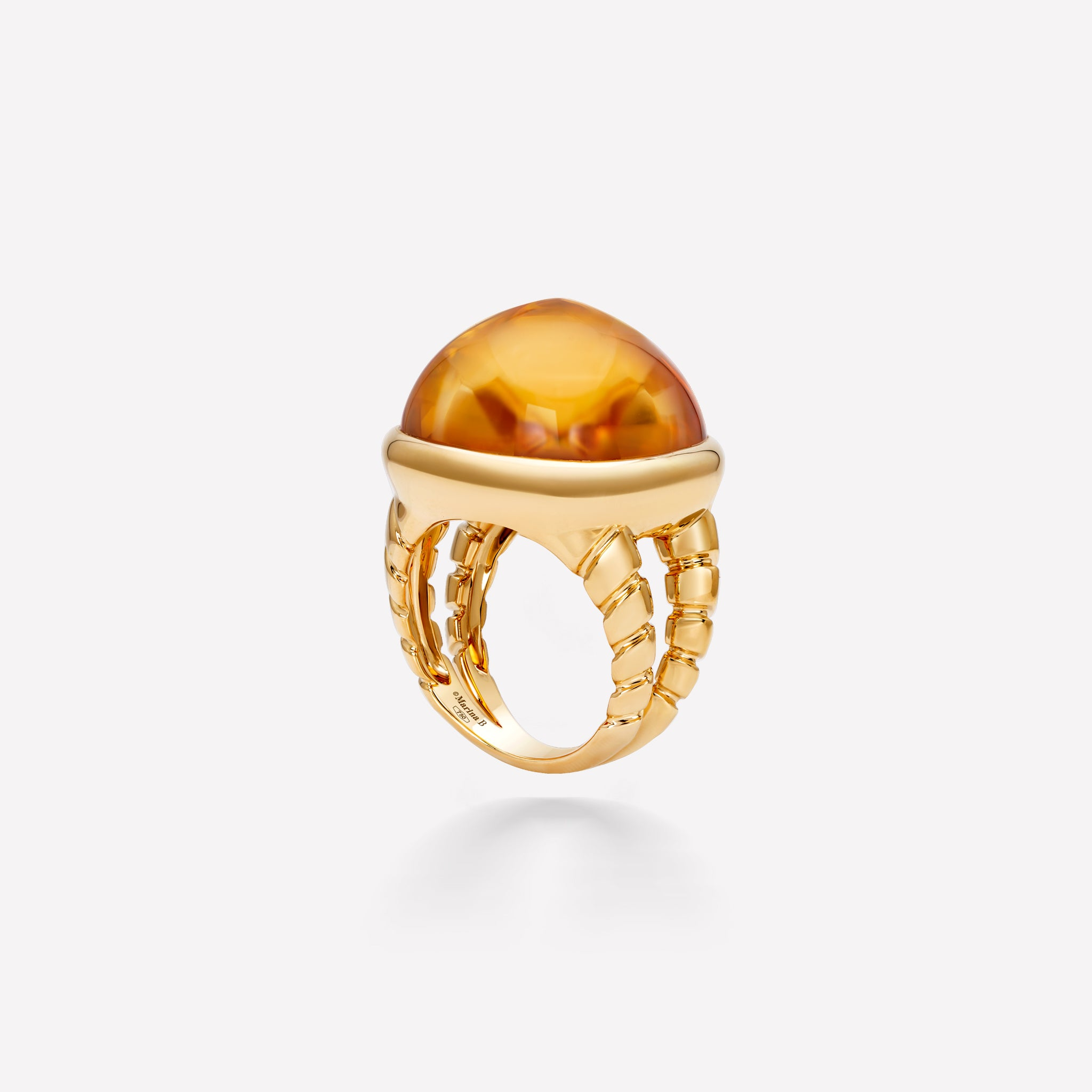 marinab.com, Tigella Citrine Ring