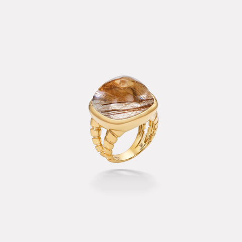 marinab.com, Tigella Rutilated Quartz Ring