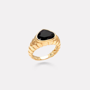 marinab.com, Timo Black Spinel Ring