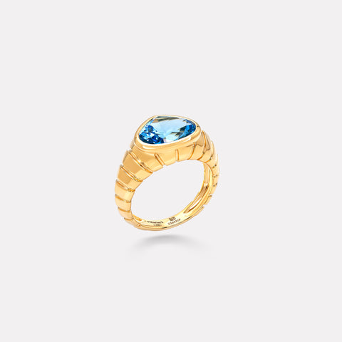 marinab.com, Timo Blue Topaz Ring