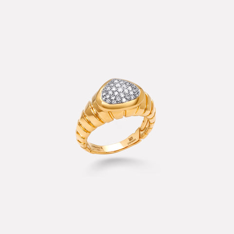 marinab.com, Timo Pavé Diamond Ring