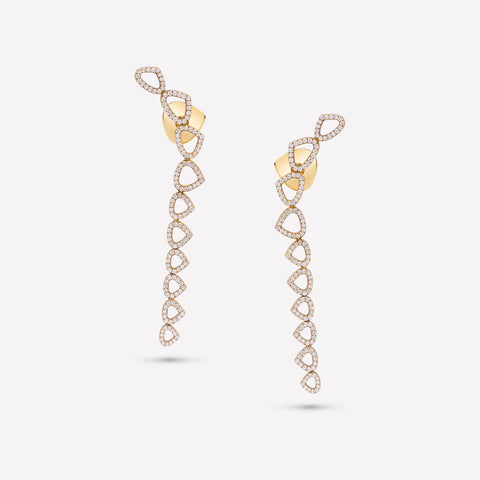 marinab.com, Trina Long Earrings