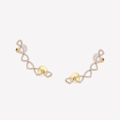 marinab.com, Trina Climber Earrings