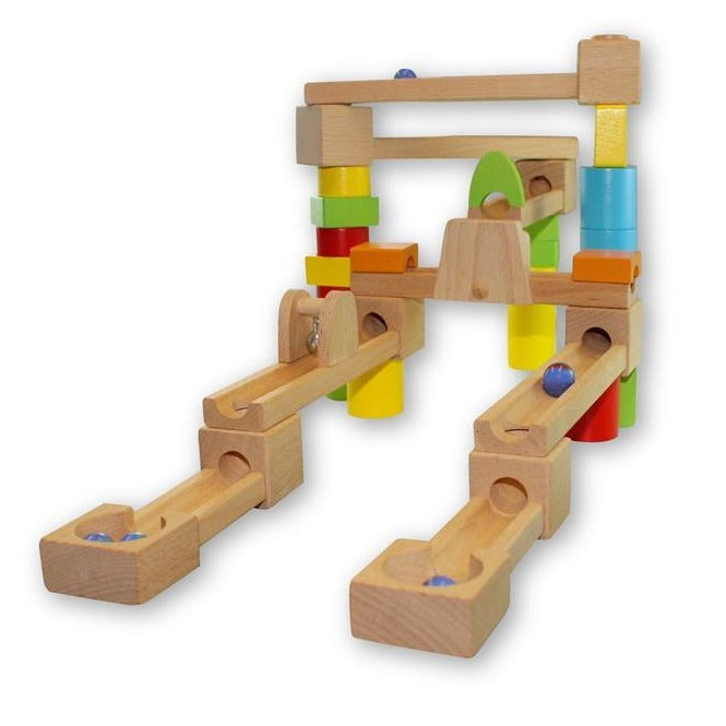 Marble Run 40pc Set-Toys-Discoveroo-Little Soldiers