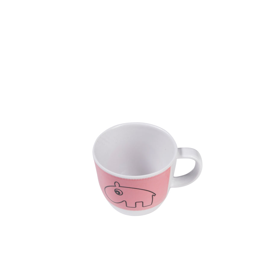 Contour Cup, Raspberry-Dinnerware-Done By Deer-Little Soldiers