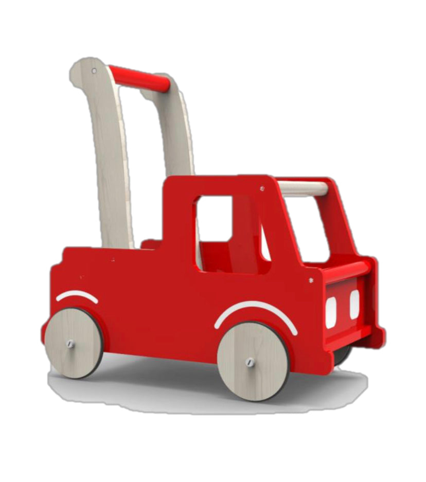 Red Truck Baby Walker-Toys-Moover Toys-Little Soldiers
