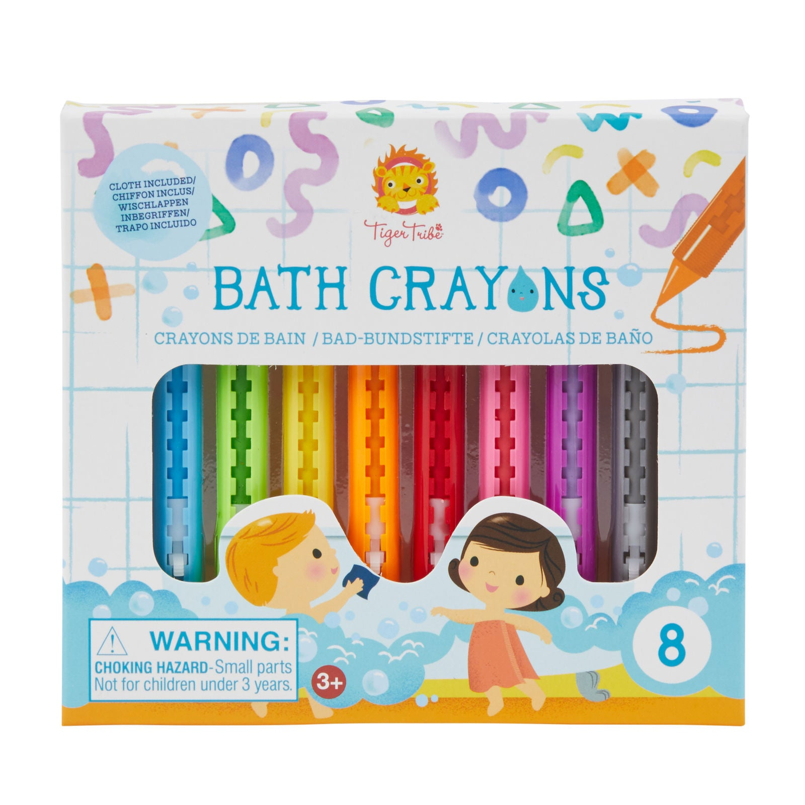 Bath Crayons-Toys-Tiger Tribe-Little Soldiers