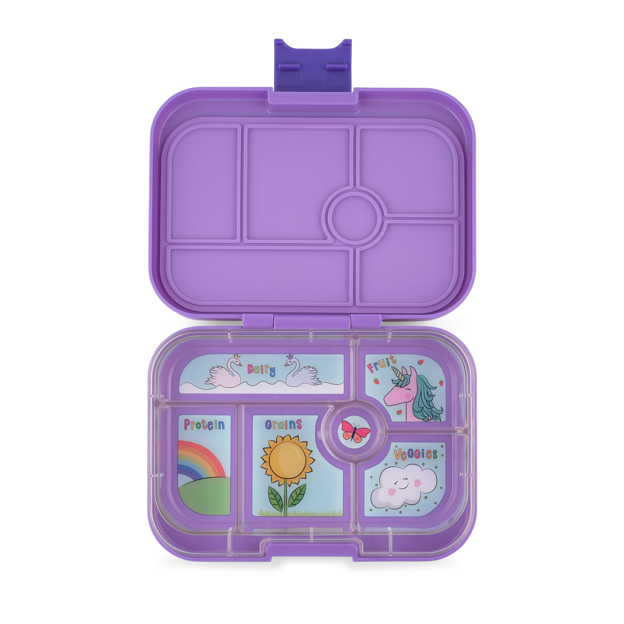 Yumbox - Original Bento Lunchbox - Dreamy Purple-lunchbox-Yumbox-Little Soldiers