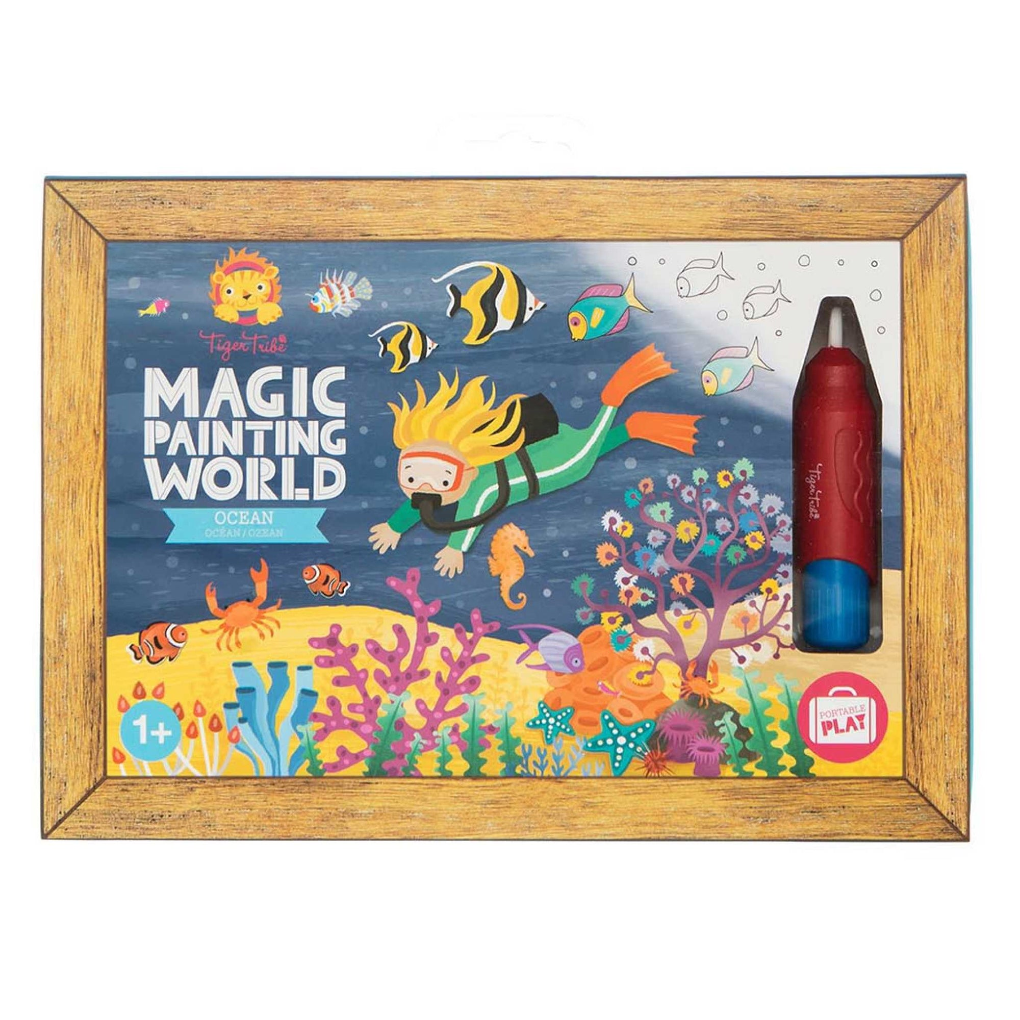 Magic Painting World - Ocean-Toys-Tiger Tribe-Little Soldiers