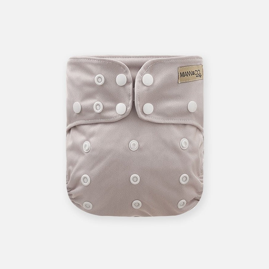 Reusable Cloth Nappy - Sand-Cloth Nappies-Miann & Co-Little Soldiers