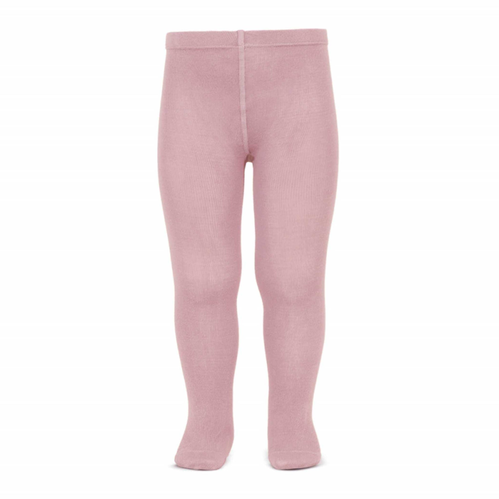 Basic Plain Tights-Accessories-Condor Barcelona-Pale Pink 256-Little Soldiers