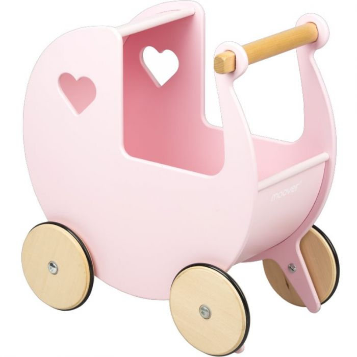 Dolls Pram - Pink-Toys-Moover Toys-Little Soldiers