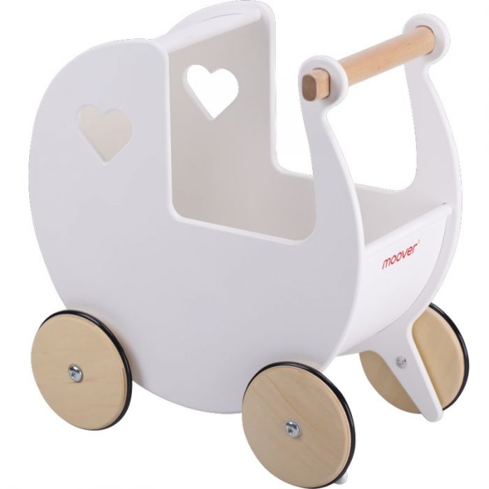 Dolls Pram - White-Toys-Moover Toys-Little Soldiers