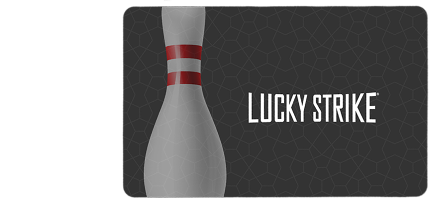 Lucky Strike Gift Card