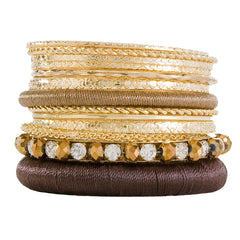 Gold Rush Bangle Set